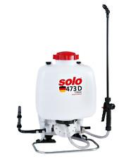 SOLO 473 D - Classic Rückenspritze Drucksprühgerät Sprügherät Spritze - 10 Liter