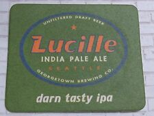 486ad9fa Beer Brewery COASTER ~ GEORGETOWN Brewing Lucille India Pale Ale ~ Seattle,  WASH