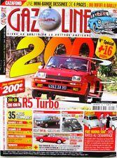Gazoline n°200 - 2013 - FIAT NUOVO 500  - Restauration Renault 4 GTL 1983 -