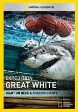 Expedition Great White: Giant On Deck & Chasing Gi  DVD NEW