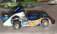 Hot Wheels 1998 - Blue CX4 Race Car - LOOSE / PLAYED With Mattel China E1