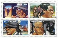 Great Film Directors Sheet of 20 Forever Stamps Scott 4668-4671
