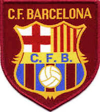 Iron On/ Sew On Embroidered Patch Badge Football Club (Barc) C.F. Logo