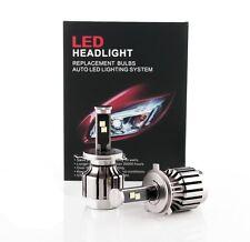 Xenon White Cree Chip 80W 7200LM LED Headlight Kit H4 9003 Hi/Lo Dual Beam Bulbs