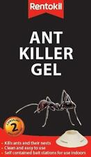 RENTOKIL Ant Killer Gel 2 Pack Bait Stations Easy To Use! Safe & Effective