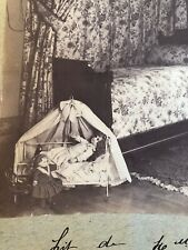 Scarce French Antique Cabinet Photo China Dolls In Bedroom Exquisite