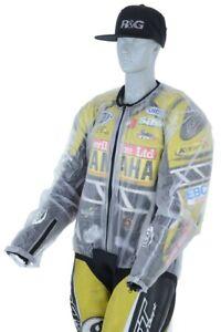 R&G Waterproof Rain Over Jacket Ideal for Motorcycle Motorbike Leathers