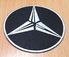 1xNEW MERCEDES BENZ RACING SPORT LOGO EMBROIDERED IRON ON PATCH SHIRT PO191