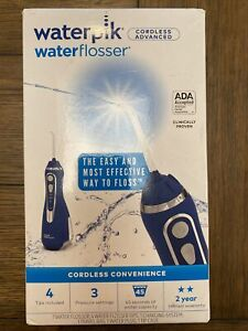 Waterpik WP-563 Cordless Advanced Water Flosser Excellent Used Once