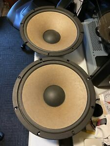 """PIONEER 38-801A-1 WOOFER, OUT OF CS-911A SPEAKER 15"""" 150W 8ohm 2 available"""