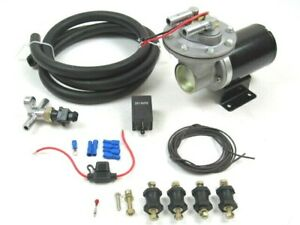 Universal 12V Electric Vacuum Pump Install Kit GM Ford Chevy for Brakes BPB-3066