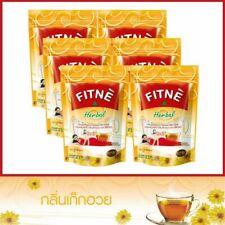 Chrysanthemum FITNE Tea Herbal Drink Tasty Natural Slimming Detox 30 Sachets Bag