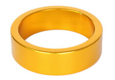 """GOLD Headset Spacer 10mm x 1 1/8"""" NEW! Shim Anodized bike scooter xc dh bmx mtb"""