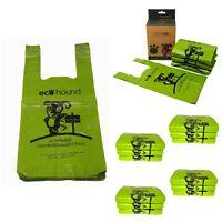 Ecohound Large Dog Waste Bags  - Full Carton 4800 Dog Poo Bags Dispenser Boxes