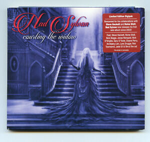 Nad Sylvan  -  Courting the Widow  (2015) Limited Edition feat. Steve Hacket