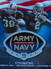 2016 ARMY-NAVY COLLEGE PROGRAM MIDSHIPMEN BLACK KNIGHTS CHAMPIONS WINNER 2017 !