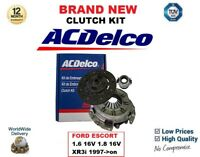 FOR FORD ESCORT 1.6 16V 1.8 16V XR3i 1997->on NEW AC DELCO 3 PIECE CLUTCH KIT