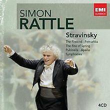 Rattle-Edition:Strawinsky von Simon Rattle   CD   Zustand gut