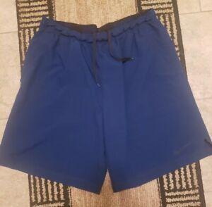 Nike Men's Dri Fit Blue  Training Shorts w/Pockets! Size XL Thin Lightweight