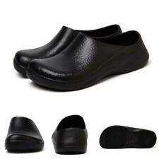 Men Slip on Fashion Shoe Chic Kitchen Cook Shoes Restaurant Water Oil Resistant