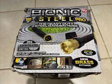 Bionic Steel Metal Garden Hose 100 Ft Heavy Duty 304 Stainless Steel New Other