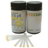 100 x Urine PH Test Strips Alkaline (5.0-8.5) GP Urine Water Saliva Reagent Kits