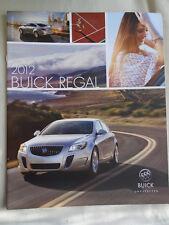 Buick Regal range brochure 2012 USA market