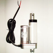 """Linear Actuator 2"""" Stroke 330 Pound Max Lift 12 Volt DC Heavy Duty 12v Hoods LBS"""