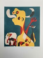 Joan Miró: I Work Like a Gardener. Signed & Numbered Lithograph