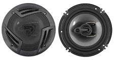 "Pair Rockville RV6.3A 6.5"" 3-Way Car Speakers 750 Watts/140 Watts RMS CEA Rated"