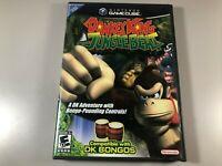 Donkey Kong Jungle Beat (Nintendo GameCube, 2005) Complete CIB
