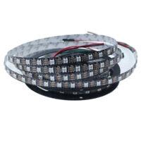 1 roll 5050 RGB LED Strip 5M 300 Leds DC 5V Waterproof Black L8W1 C3C6 P0A6