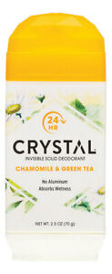 Crystal Invisible Solid Deodorant - Chamomile 70g