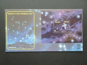 Namibia Stars in the Namibian sky official first days stamp cover dated Sep 1996