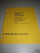 New Holland 1045 Bale Wagon Parts Catalog