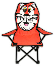 Kids Folding Chair Tiger Novelty Chair Outdoor Camping Childrens Seat
