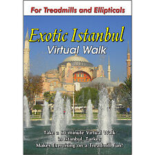 ISTANBUL WALKING TOUR TREADMILL DVD SCENERY VIDEO EXERCISE FITNESS WEIGHT LOSS