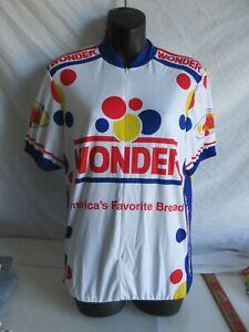 Pearl Izumi Wonder Bread Bicycle Bike Jersey Sz M USA Made