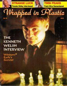 Wrapped In Plastic #20 Twin Peaks Fanzine 1995 David Lynch X Files new old stock