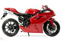 New Ray Toys Ducati 1198 Superbike Toy model Motorcycle motorbike Red 1:12 Scale