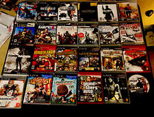24 Sony PS3 PlayStation Games God Of War Collection, Raider, Borderlands, More!