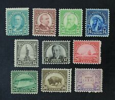 CKStamps: US Stamps Collection Scott#692-701 Mint 9H OG 1 Thin 25c NG Thin