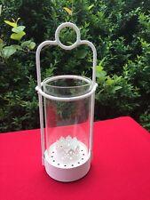 Antique Primitive Shabby Chic Lantern Candle Holder Yankee Candle Tealight 11x5