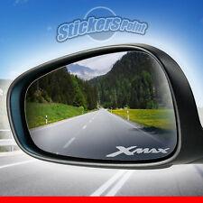 ADESIVI x specchietti moto XMAX YAMAHA - PVC effetto vetro smerigliato