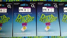 ALL PHONE SIZE SIM CARD For 02 O2 NETWORK With £10 Big Bundle Pay As You Go Deal