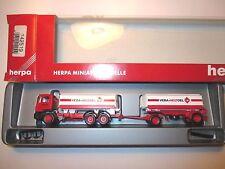 "MAN F90 Tank-HZ tanker truck ""VEBA HEIZOEL"", Herpa #142519 in 1:87 H0 boxed!"