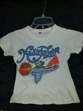 Vintage Child T Shirt 1980's Kwajalein Size 12