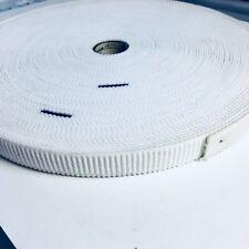 Premium White Woven Polyester Elastic -20mm Per 2 Metres
