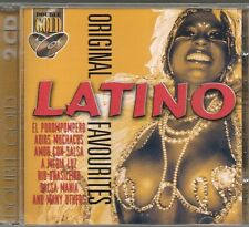2 CD COMPIL 40 TITRES--ORIGINAL LATINO FAVOURITES--EL POROMPOMPERO/MEDIA LUZ...
