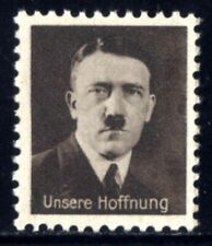 B700-GERMAN EMPIRE-Third reich.1933 WWII.Adolf HITLER NAZI Stamp OUR HOPE.MNG.